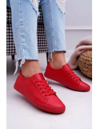 Women's Sneakers Big Star Red DD274686 - DD274686 RED