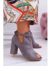 Originalaus dizaino madingi batai atviru priekiu - YQE19-1751 GREY