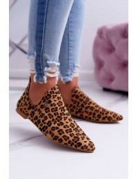 Stilingi Lu Boo leopardo rašti bateliai - 978-BT1 CAMEL
