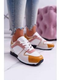 Women s Sport Shoes Yellow Merido - B01 WHITE YELLOW