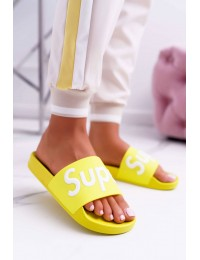 Women's Flip Flops Yellow Super Losaria  - CK110 L.YELLOW