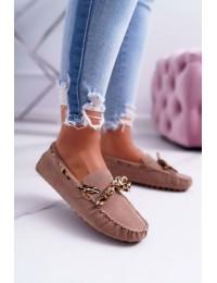 Women s Loafers Lu Boo Eco-suede Beige Plummy - 301-10 BEIGE