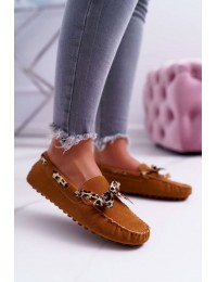 Women s Loafers Lu Boo Eco-suede Camel Plummy - 301-10 CAMEL