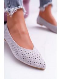 Stilingo dizaino Lu Boo elegantiški bateliai - A978-231 GREY