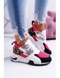 Aukštos kokybės madingi batai White Malibu - 12553-10 WHITE/RED