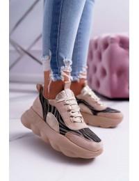Madingi išskirtiniai batai - 002-6 BEIGE