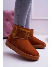 Aukštos kokybės UGG stiliaus zomšiniai batai - EE274259 CAMEL