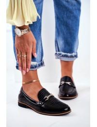 Women's Brogues Loafers Maciejka Leather Black 4099A-01/00-1 - 4099A-01/00-1 BLK