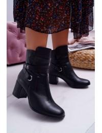Laura Messi juodi klasikinio stiliaus batai - 1820 BLK