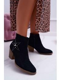 Juodi batai su žvaigždute - L88-163 BLK