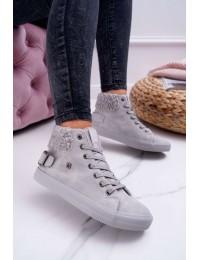 Stilingi patogūs batai su pašiltinimu - EE274079 GREY