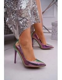 Women's High Heels Iridescent Purple WildStar - NF-52P PURPLE