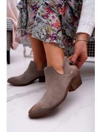 Aukštos kokybės natūralios verstos odos Nicole batai  - 2456 CAPPU/W