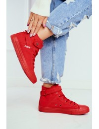 Women's Sneakers Big Star Red FF274580 - FF274580 RED