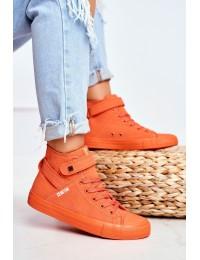 Women's Sneakers Big Star Orange FF274583 - FF274583 ORANGE