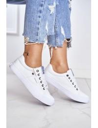 Women's Sneakers Big Star White AA274511 - AA274511 WHITE