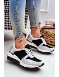 Stilingi natūralios odos patogūs aukštos kokybės batai - 2468 WHITE 01