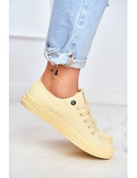 Women's Sneakers Big Star Yellow DD274441 - DD274441 YELLOW