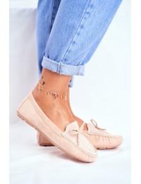 Women s Loafers Suede S.Barski A199 Beige Wannabe - A199-C BEIGE