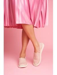 Švelnios rožinės spalvos espadrilės - NB273 PINK