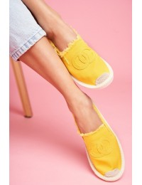 Women s Espadrilles Yellow Flaure  - NB273 YELLOW