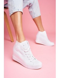 Women's Sneakers Big Star White FF274A192 - FF274A192 WHITE