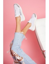 Women's Sport Shoes Big Star White FF274282 - FF274282 WHITE
