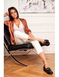 Women's Brogues Laura Messi Black 2121 - 2121 BLK 142