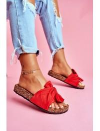 Women's Flip-flops Bows Red Felis - CK115 RED