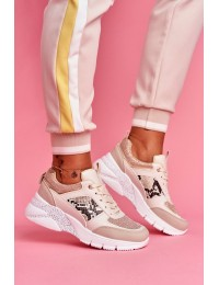 Women s Sport Shoes Beige Lisbon - J105 BEIGE