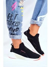 """Moteriški sportiniai bateliai """"Cross Jeans"""" - FF2R4116C BLK"""