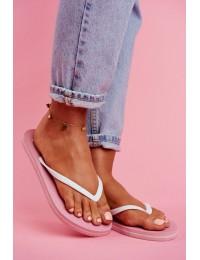 Women's Slides Flip flops Big Star Pink FF274A319 - FF274A319 PINK