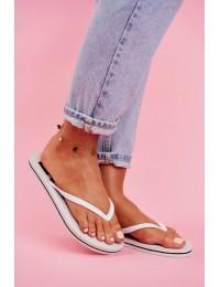 Women's Slides Flip flops Big Star White FF274A320 - FF274A320 WHITE