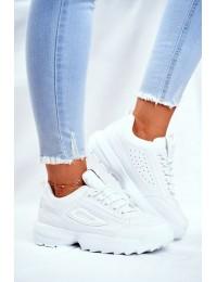 Women's Sport Shoes White Hover - 3069 WHITE