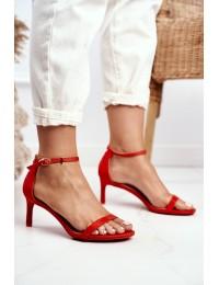 Women's Sandals On High Heel Classic Orange Mintore - NF34 ORANGE