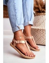 Women's Sandals ZAXY Beige DD285040 - DD285040 BEIGE