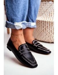 Women's Black Shoes Lords Jets Harriet - 588B-TA1 BLK PU
