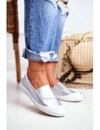 Stilingi SLIP ON stiliaus bateliai Silver Justy - 8811-24 SILVER