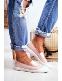Stilingi SLIP ON stiliaus bateliai Pink Justy - 8811-24 PINK