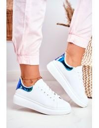 Women s Sport Shoes Lu Boo White Metallic Matilda - F58-1 WHITE/GREEN