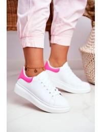 Women s Sport Shoes Lu Boo White Fuchsia Matilda - F58-1 WHITE/FUCHSIA