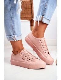 Women's Sneakers Big Star Pink GG274103 - GG274103 PINK