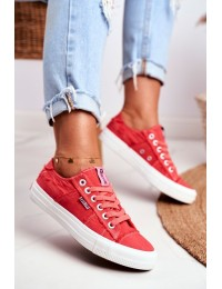 Women's Sneakers Big Star Red DD274449 - DD274449 RED