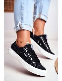 Women's Sneakers Big Star Black DD274446 - DD274446 BLK