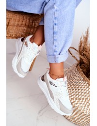 Women s Sport Shoes Sneakers White Martina - JD03 WHITE