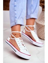 Women's Sneakers Transparent Elements White Grace - XL22 WHITE