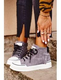 Women's Sport Leather Shoes GOE Grey GG2N3079 - GG2N3079 GREY
