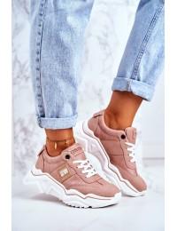 Women's Sport Shoes Big Star Pink GG274210 - GG274210 LT.PINK