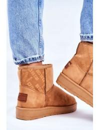 Camel spalvos UGG stiliaus zomšiniai batai - GG274559 CAMEL