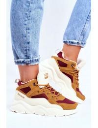 Women's Sport Shoes Big Star Beige GG274646 - GG274646 BEIGE